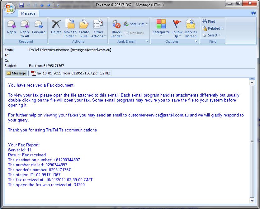 E Mail An Fax